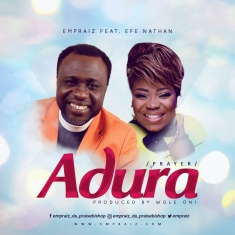 Empraiz - Adura [Prayer] Ft. Efe Nathan [Art cover]
