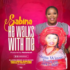 Sabina - He Walks With Me [Art cover]