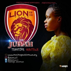 Temitope Akintewe - Lion of the Tribe of Judah [Art cover]