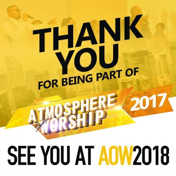 UPDATE: ATMOSPHERE OF WORSHIP CONCERT 2017