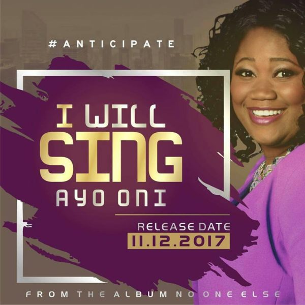 Ayo Oni Set To Release I WILL SING @AyoOniMusic #Anticipate
