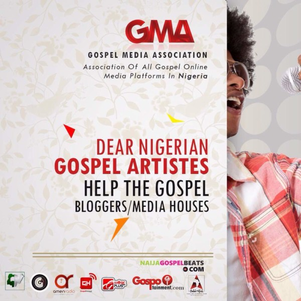 DEAR NIGERIAN GOSPEL ARTISTES, HELP THE GOSPEL BLOGGERS/MEDIA HOUSES
