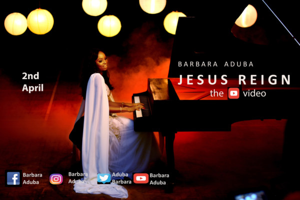 Jesus Reign by Barbara Aduba @AdubaBarbara