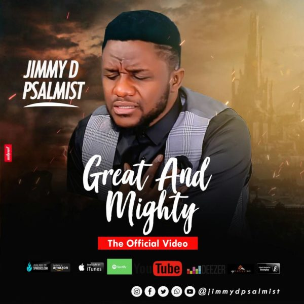 """Jimmy D Psalmist Debuts Music Video for """"Great And Mighty"""" @JimmyDPsalmist"""