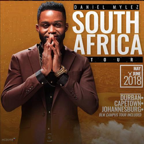 Daniel Mylez Storms South Africa in His first Music Tour @DanielMylez