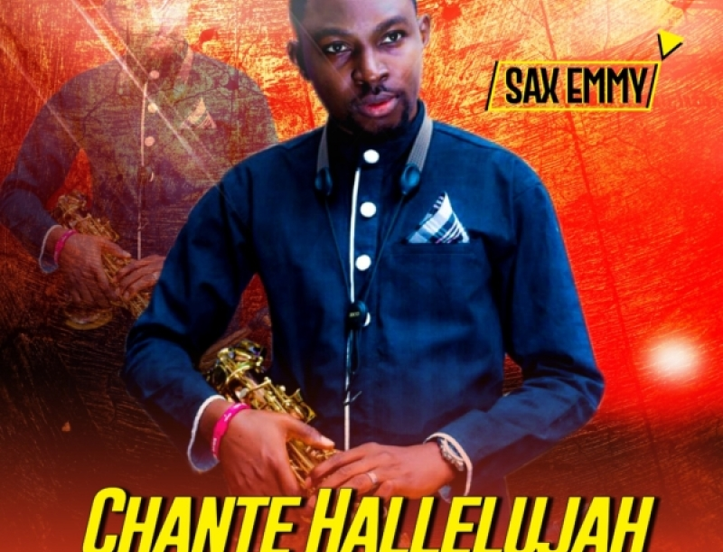 saxemmy chante hallelujah art cover